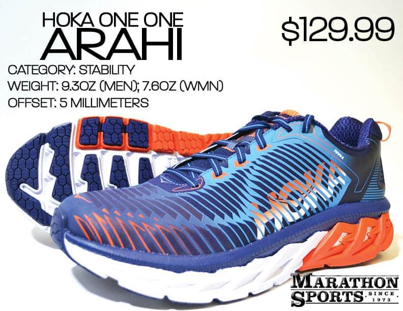 SHOE UPDATE: Hoka Arahi   Marathon Sports