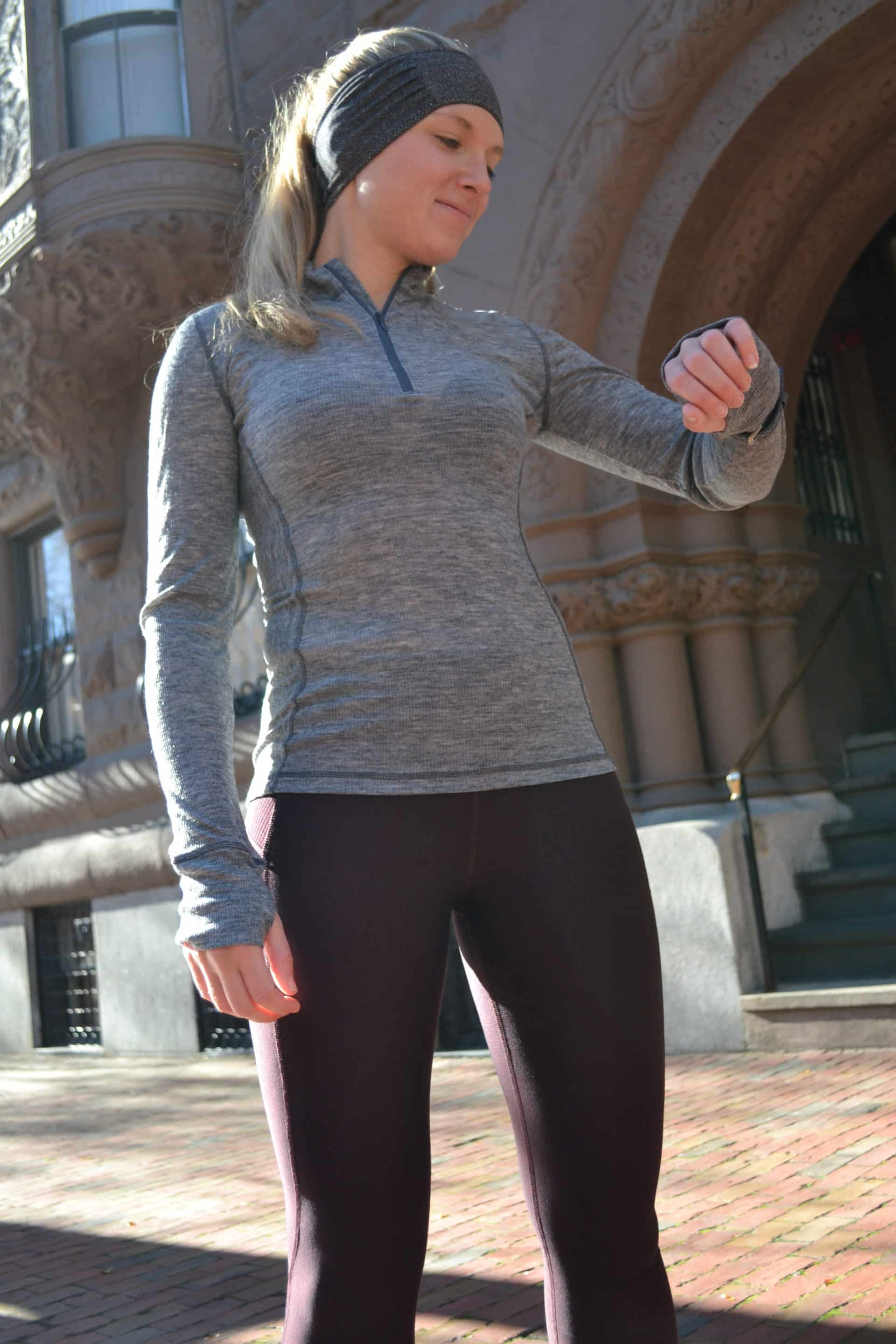 Winter running starts with a great baselayer